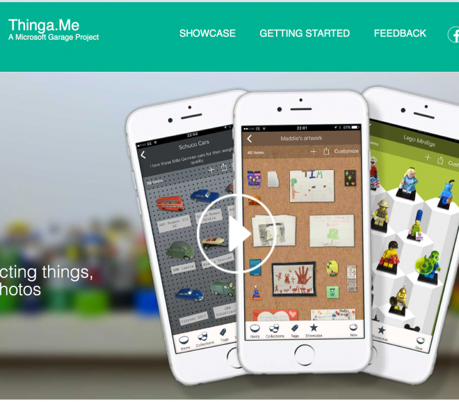 Thinga.Me website preview