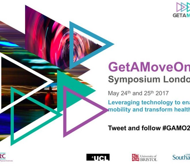 Flyer for the Get a Move On symposium